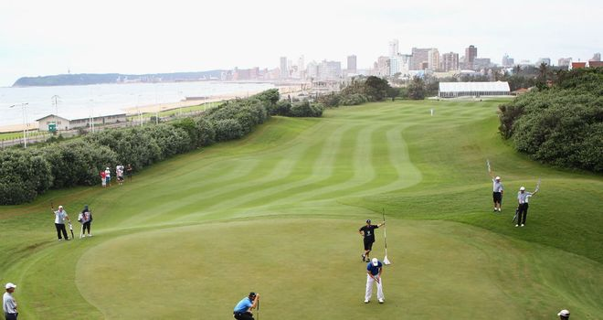 Durban Country Club plays host to this week's Volvo Golf Champions event