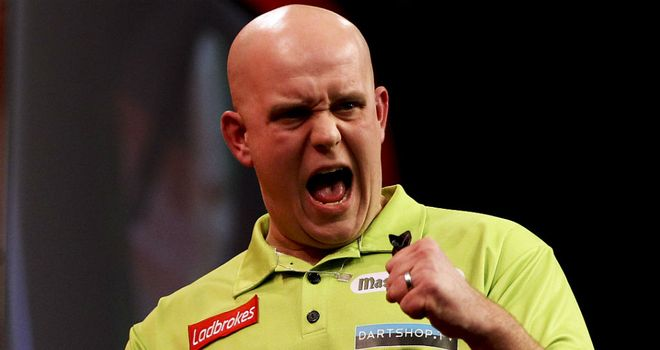 Van Gerwen: Mighty Mike has his eyes on going one better than last year