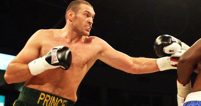 Tyson Fury: Will have advantages in size and weight against Steve Cunningham