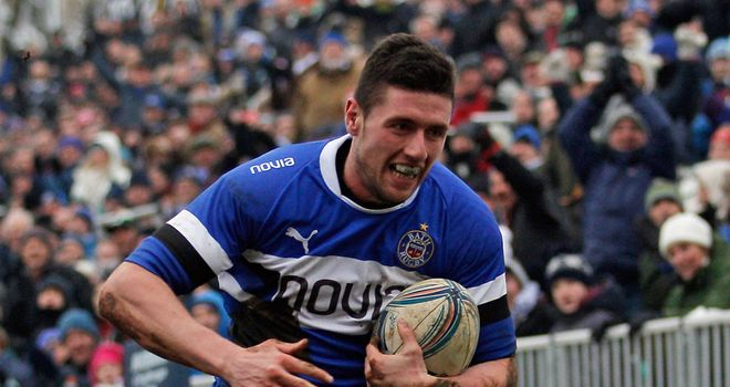 Jack Cuthbert: Ran-in a hat-trick of tries