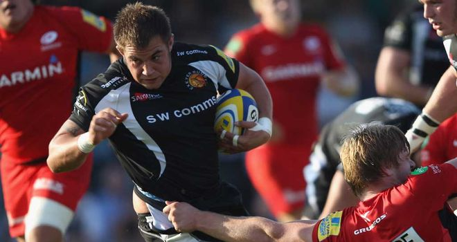 Ben Moon: New two-year contract at Exeter