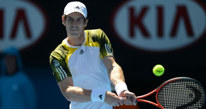Andy Murray: will face Gilles Simon in fourth round