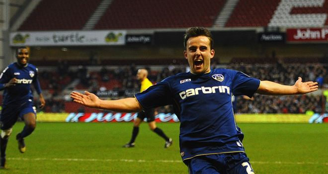 Jose Baxter: Opened the scoring for Oldham