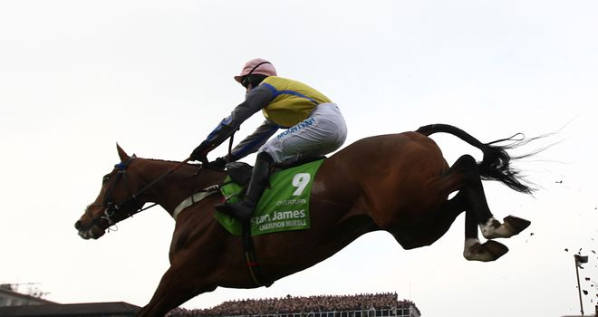 Overturn: Set to take on Simonsig in the Arkle