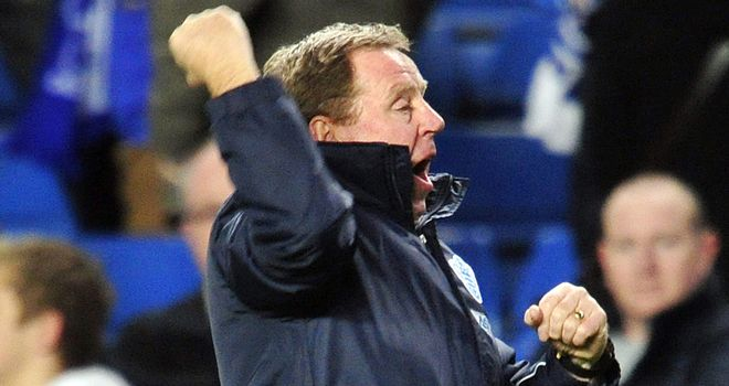 Redknapp: big night for QPR boss