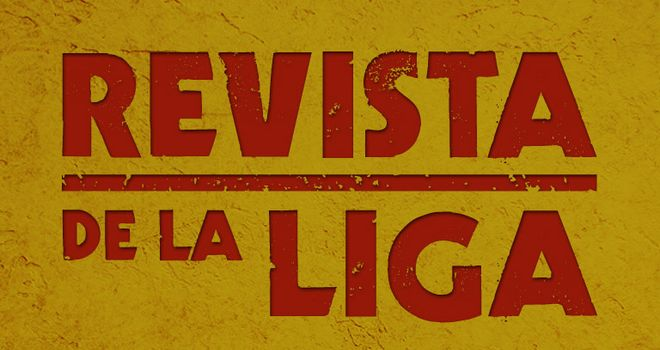 Revista De La Liga, Tuesday 6.30pm, Sky Sports 1.