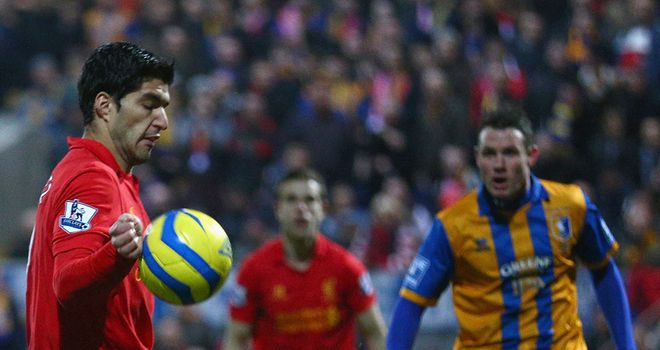 Luis Suarez: Has the support of Ian Ayre