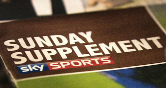 The Sunday Supplement: 9am, Sun, Sky sports 1 HD