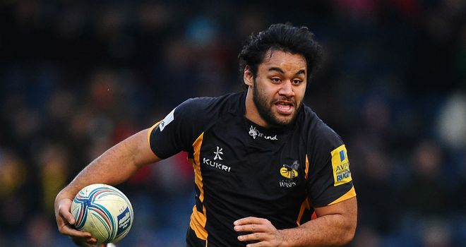 Billy Vunipola: Has been in fine form for Wasps