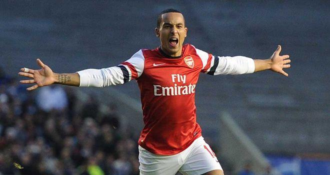 Theo Walcott: Has been a regular goalscorer for Arsenal this season