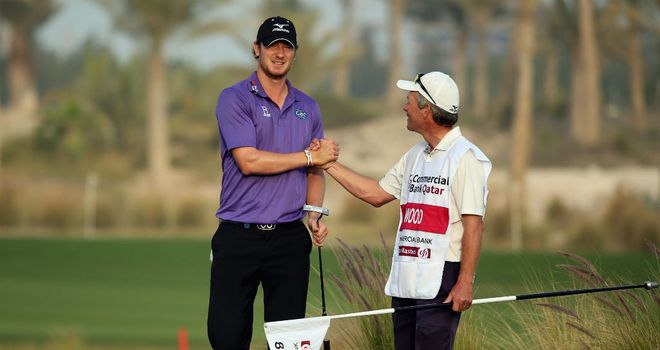 Chris Wood: Won in sensational style last week in Qatar