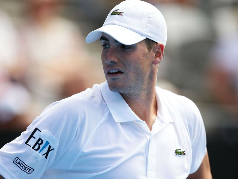 John Isner: Beaten by fellow American