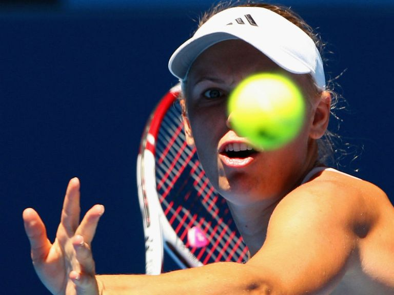 Caroline Wozniacki: Suffered a shock defeat