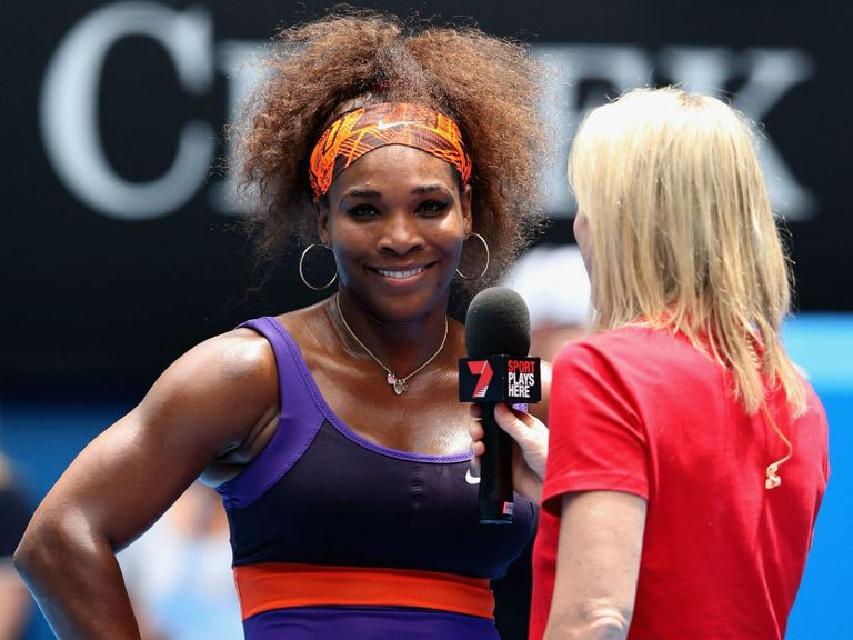Serena Williams: Ankle feeling better