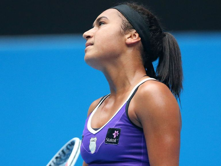 Heather Watson: Straight-sets defeat