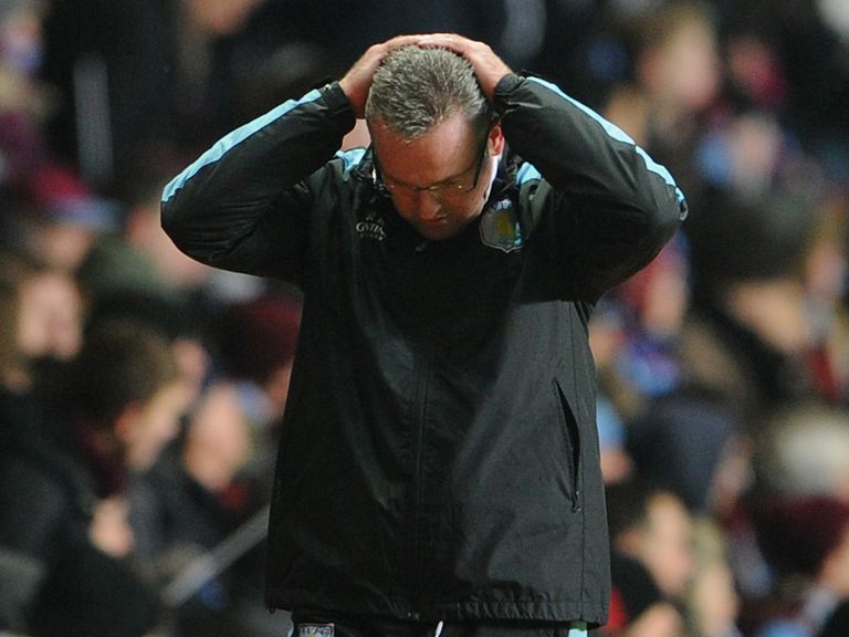 Dejection for Paul Lambert against Bradford