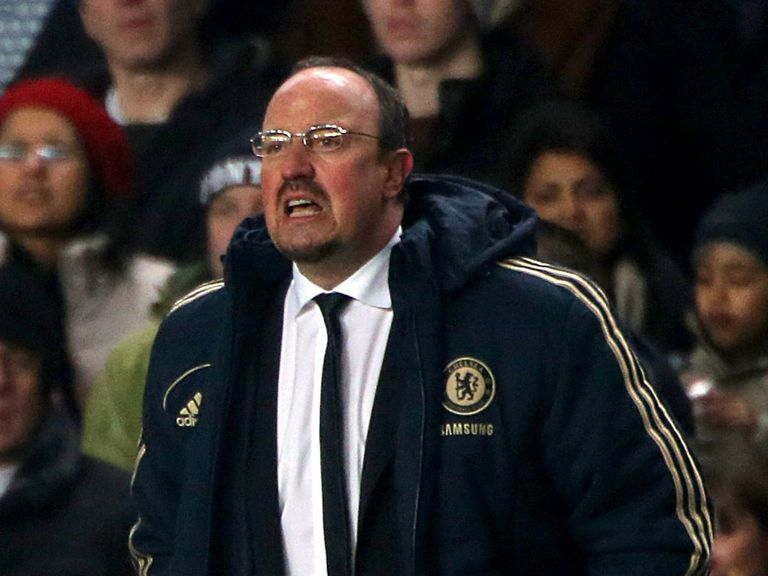 Benitez: 'We cannot be happy drawing at home'