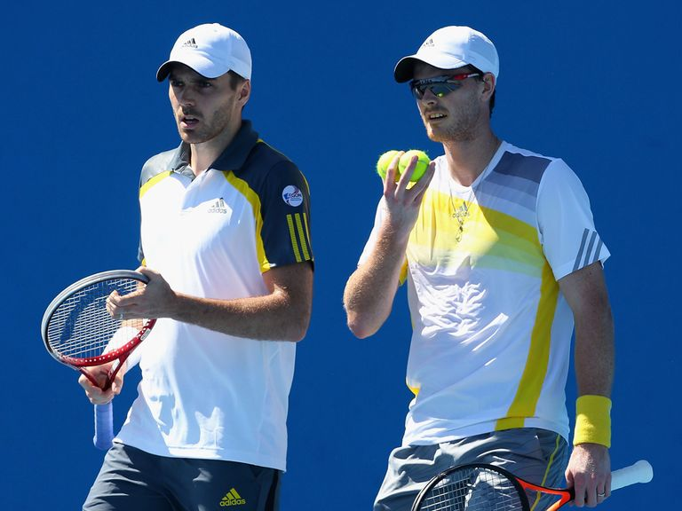 Fleming and Murray: Straight-sets defeat
