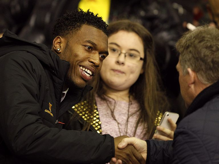 Sturridge: Backed to shine at Anfield by Gerrard