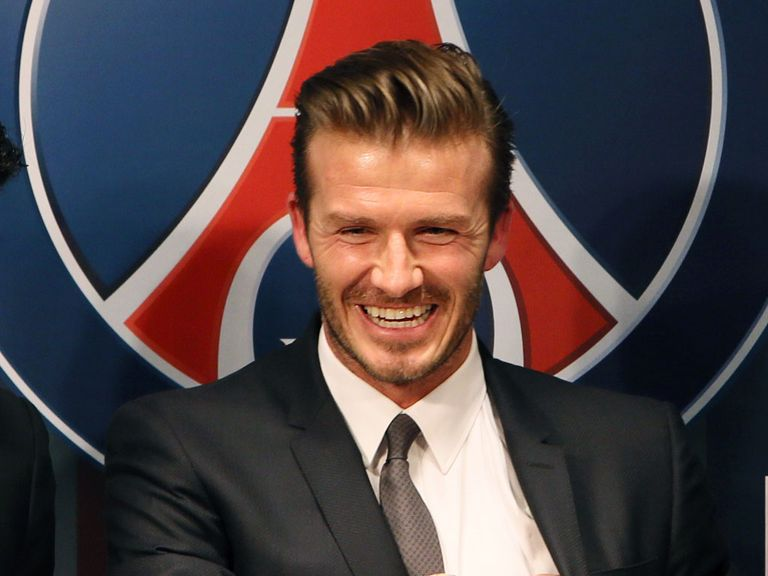 David Beckham: Opted to join PSG