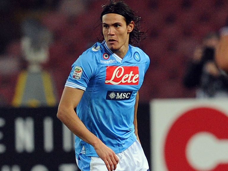 Cavani has insisted he's happy in Italy but says price tag shouldn't put off buyers