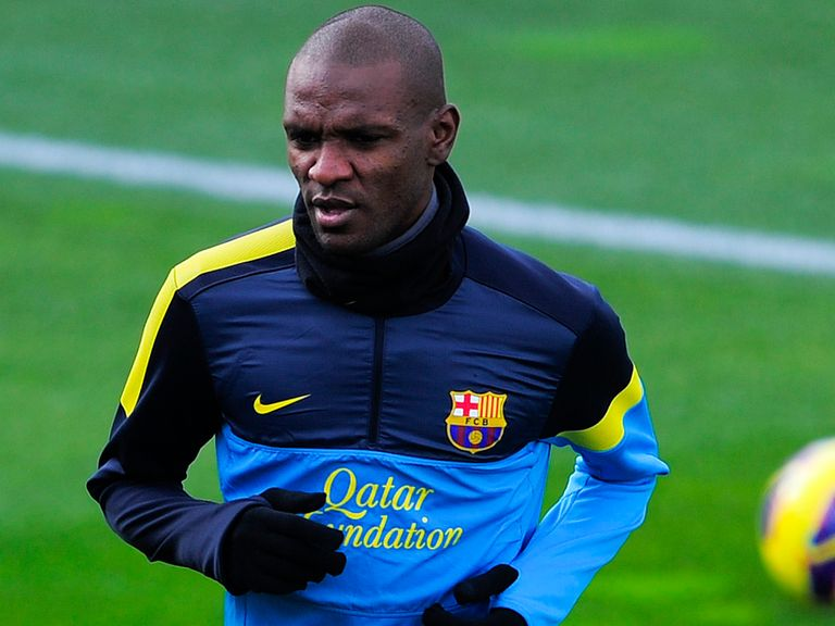 Eric Abidal: Emotional spell at Barcelona over