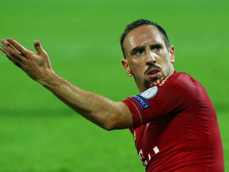 Ribery: Surprised by 'easy' victory against Arsenal