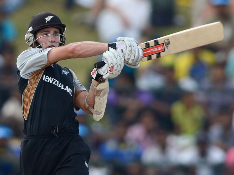 Kane Williamson: Unbeaten century for New Zealand