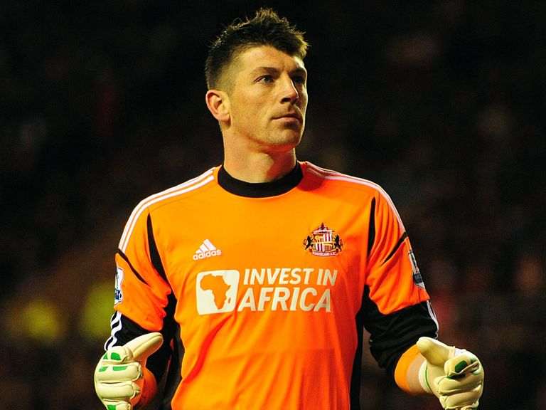 Keiren Westwood: Out of the team at Sunderland