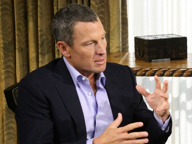 Lance Armstrong: Admitted to doping