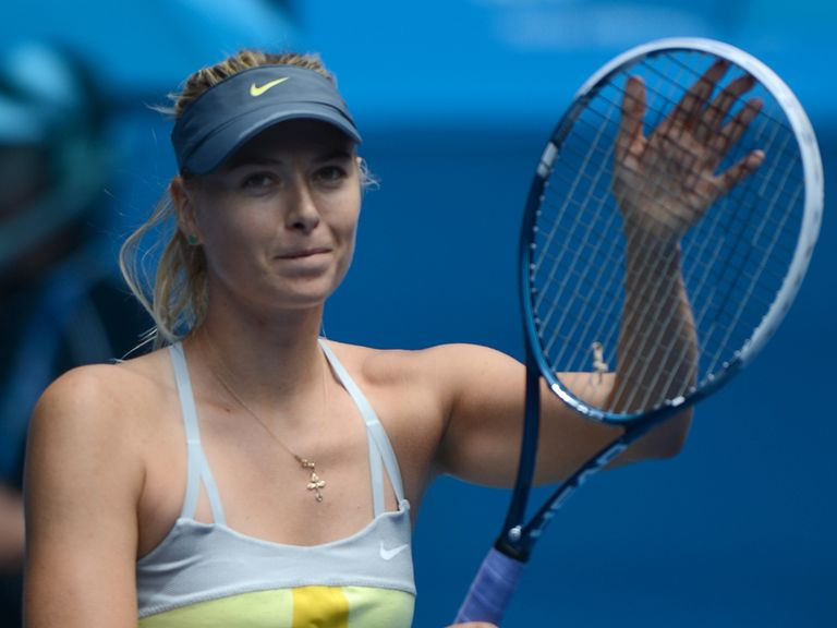 Sharapova: Cruised to victory