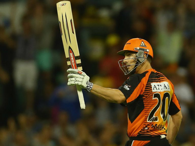 Shaun Marsh: Blasted 68 at the top of the order for Scorchers