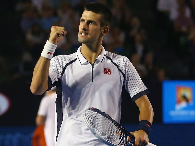 Novak Djokovic: On course to retain title