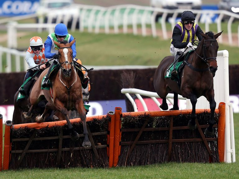 Tony McCoy and O'Faolains Boy: On the mark in the opener
