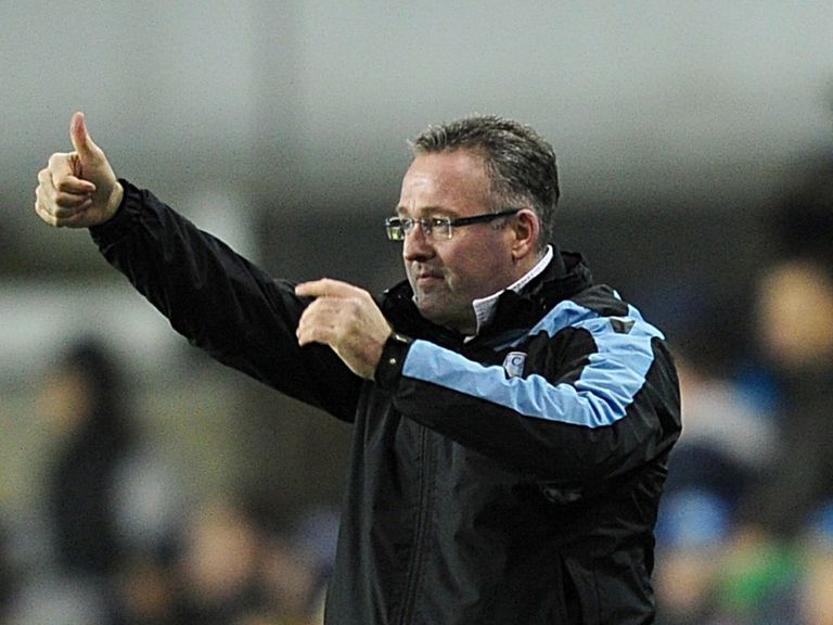 Paul Lambert: Has the backing of Randy Lerner