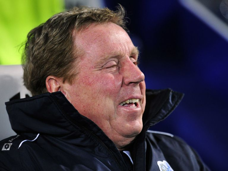 Harry Redknapp: Prepares for Manchester United test