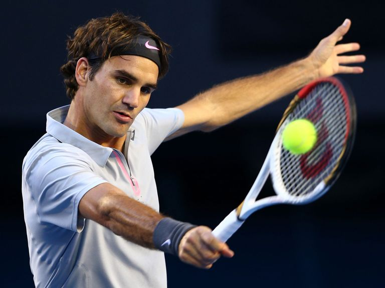 Roger Federer: Won in straight sets