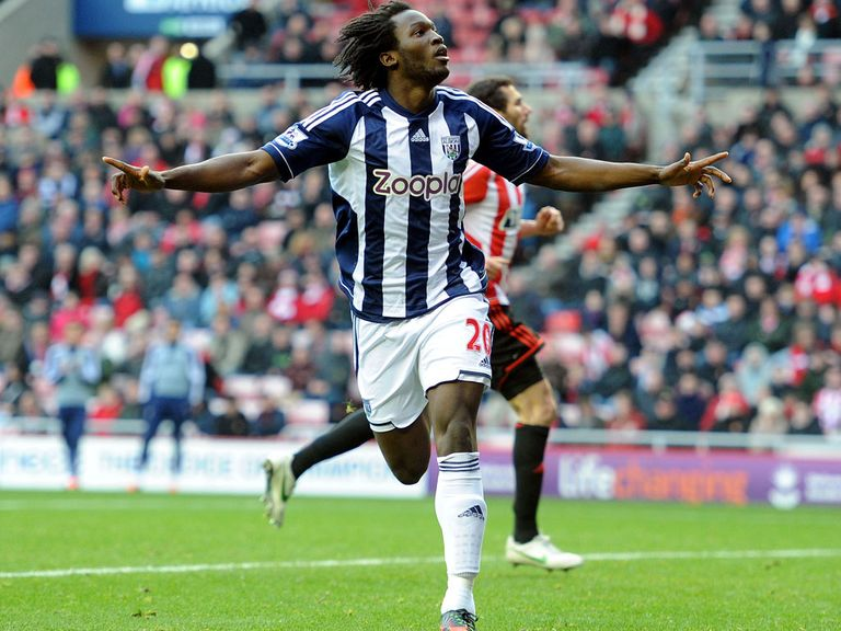Romelu Lukaku helped West Brom win 4-2 at Sunderland.
