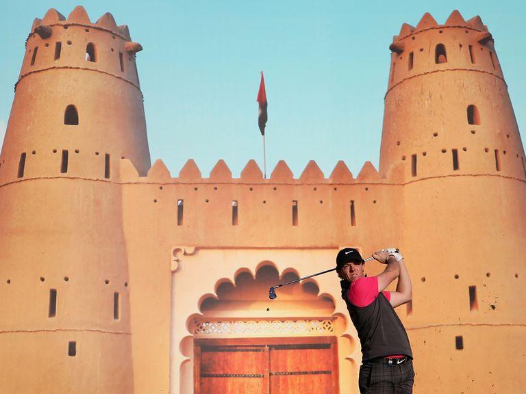 McIlroy: Tough first round in Abu Dhabi