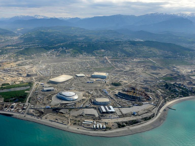 Sochi: Due to stage Olympics and a grand prix in 2014