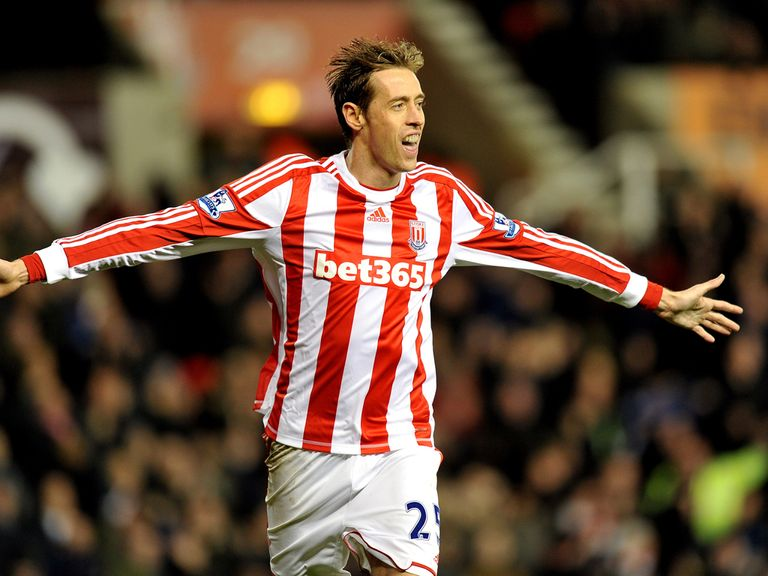 Peter Crouch: Scored against Wigan