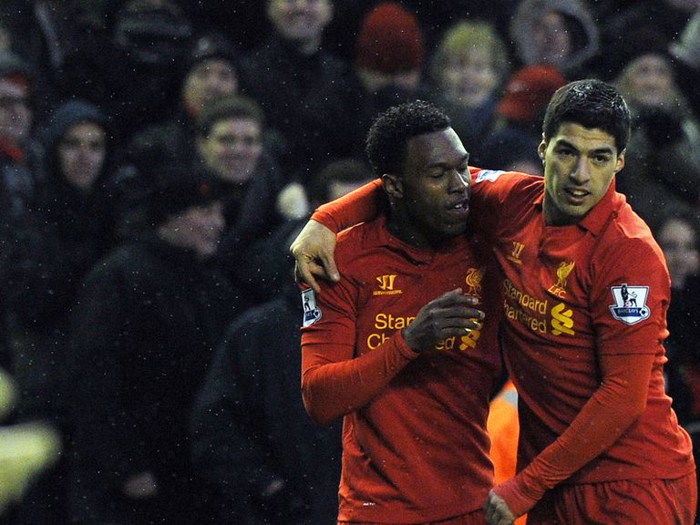 Sturridge and Suarez: Have been in great form for Liverpool