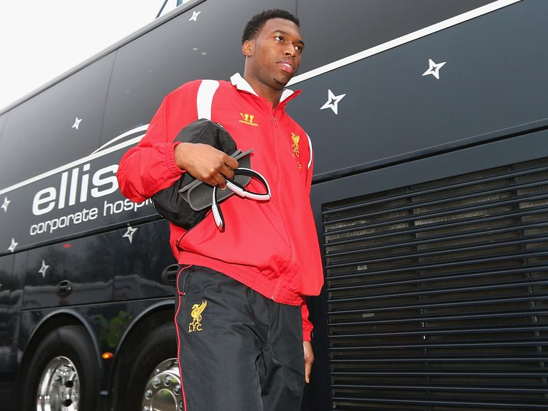 Sturridge: Set for his league debut for Liverpool