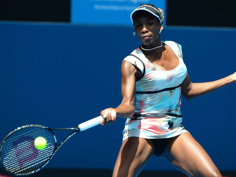 Venus Williams: Straightforward win in round one