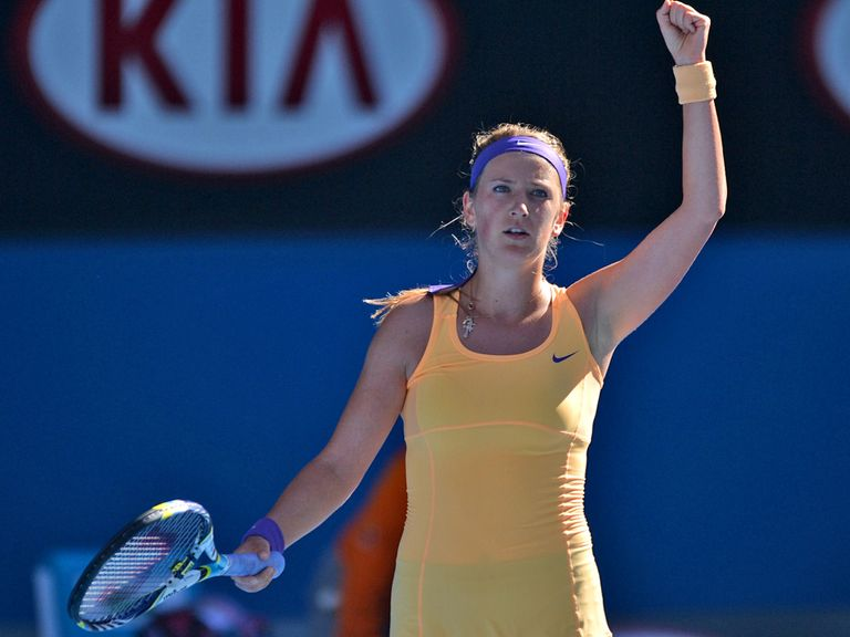 Victoria Azarenka: Slayed the giantkiller in Melbourne