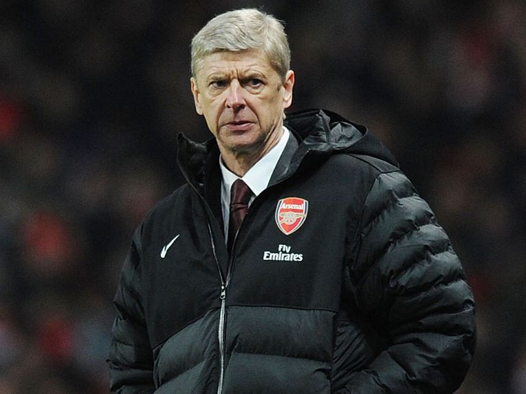 Arsene Wenger: Frustrated by struggle