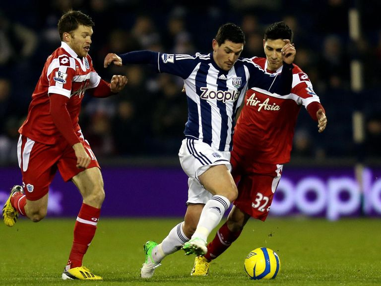 Graham Dorrans: Expressed a desire to leave West Brom in January