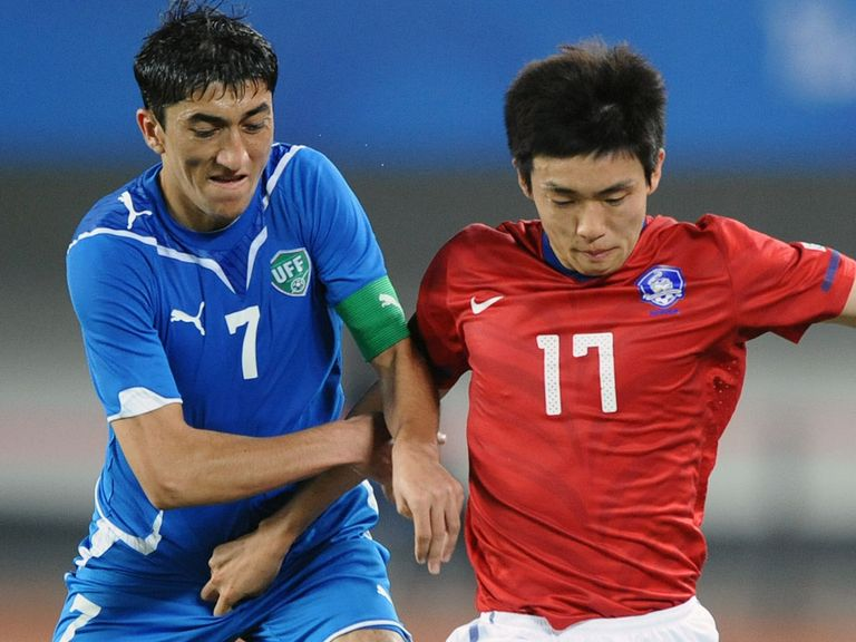 Yun Suk-Young (r): Set to undergo a medical at QPR