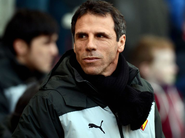 Gianfranco Zola and Watford can take three more points