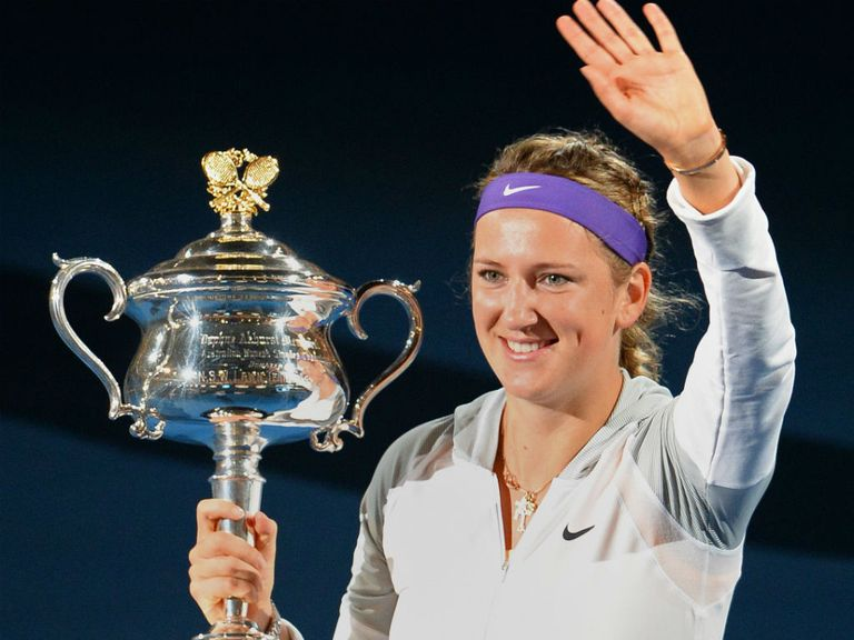 Victoria Azarenka: Reflected on emotional title defence